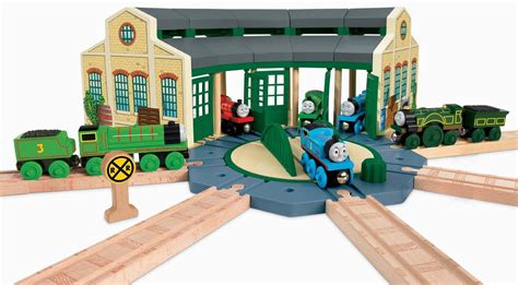 fisher price thomas the train and friends wooden railway