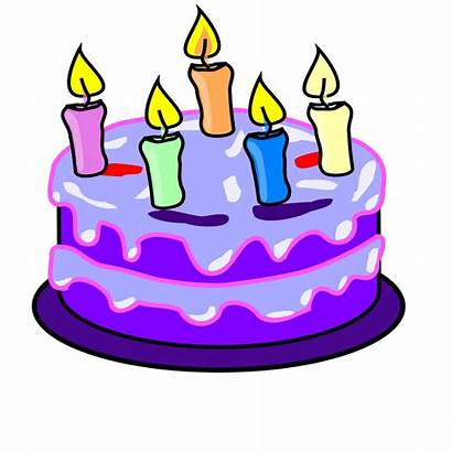 Cake Birthday Draw Svg Happy Wikimedia Candles