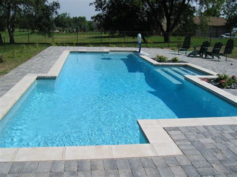 pics of pools in ground inground pool designs casual cottage