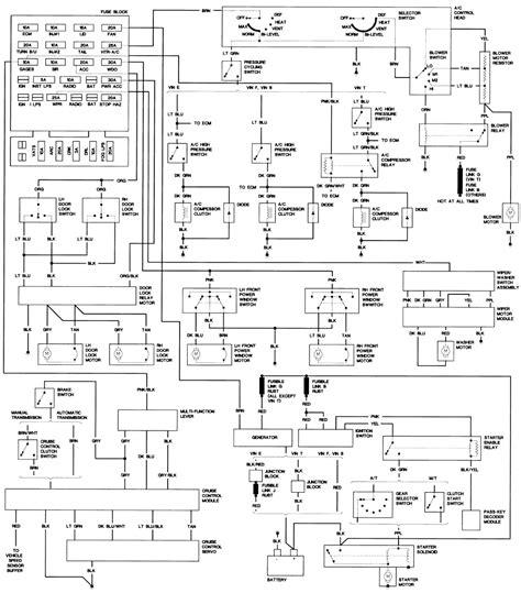 2001 Monte Carlo Radio Wiring Diagram by Wrg 9914 2004 Monte Carlo Fuse Box