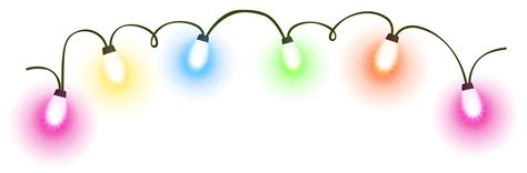 transparent christmas lights clipart 2 clipartix