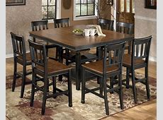 Owingsville Square Counter Height Extendable Dining Room