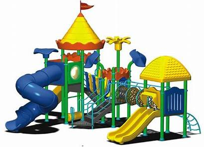Playground Cartoon Clipart Play Safe Recess Outdoor