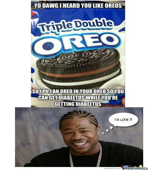 Oreo Meme - triple double oreo by takahood meme center