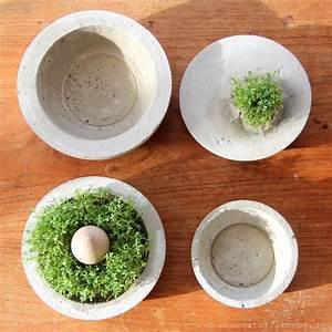 Vasen Aus Beton : beton diy gef sse selber machen beton diy diy beton und beton basteln ~ Sanjose-hotels-ca.com Haus und Dekorationen