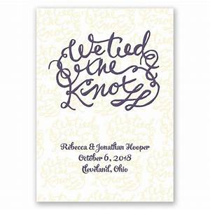 Christmas Invitation Paper Printable The Knot Wedding Announcement Invitations By Dawn