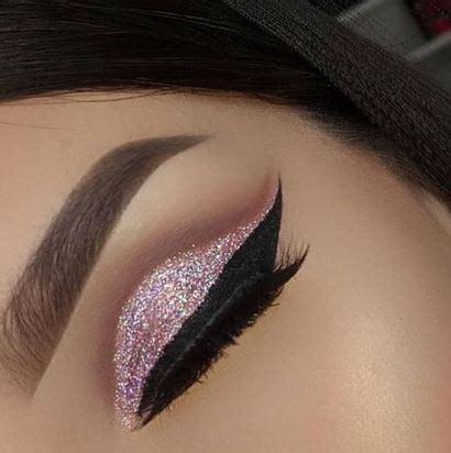 people   glitter eyeshadow    society