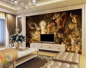 Classical oil painting Wall Murals Custom 3D Wallpaper ...