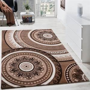 Teppich Orientalisch Modern : designer teppich kurzflor mit glitzergarn klassisch orientalisch braun beige teppiche orient optik ~ Sanjose-hotels-ca.com Haus und Dekorationen