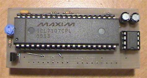 Icl Digital Led Ammeter Ampere Meter