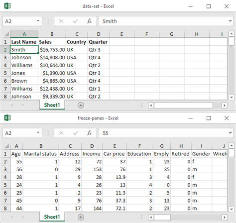 view multiple workbooks  excel easy excel tutorial