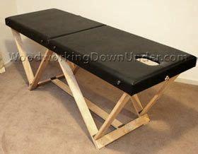 massage table plans  print ready