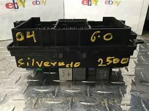 2004 Silverado 2500 2wd 6 0 Fuse Box P  N 15201928