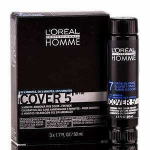Loreal Homme Cover 5 Ammonia Free 5 Minute Color For Men