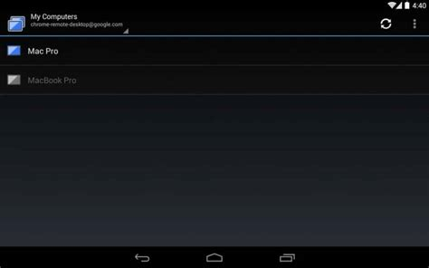 Google Releases Chrome Remote Desktop App for Android as