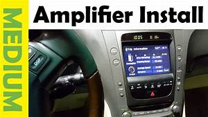 How To Install Amplifier  U0026 Subwoofer In Any Car  Simple