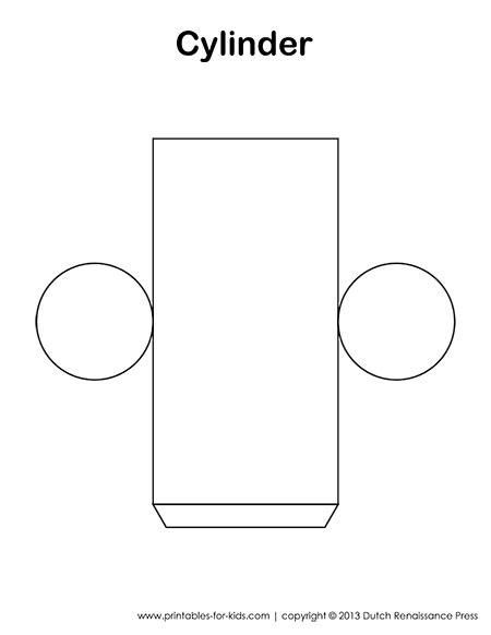cylinder template   templates    figures