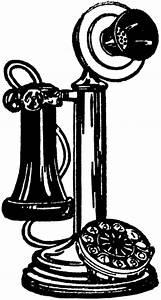 Old Fashioned Telephone Image