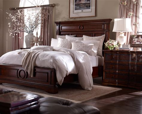 Bedroom Decorating Ideas Dark Wood Furniture At Home