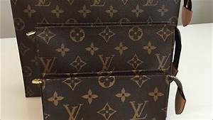 Louis Vuitton Toiletry Pouch 15, 19 and 26 Comparison and ...