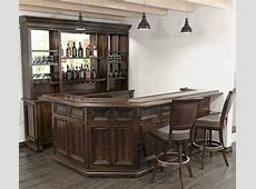 Corner Back Bar Furniture Touch Home Style with Back Bar