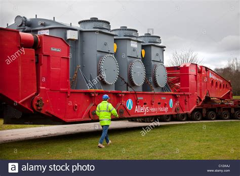 Boat Transport Preston by Delivery Of Alstom National Grid Transformer Preston From