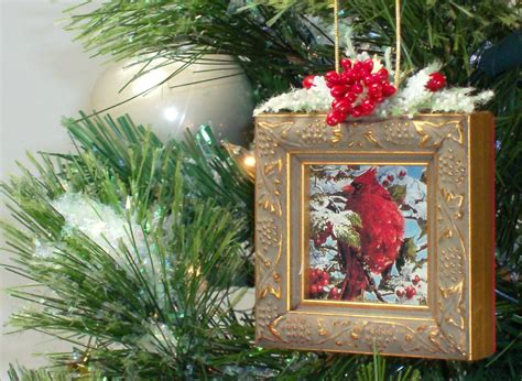 picture frame christmas tree ornament jj by