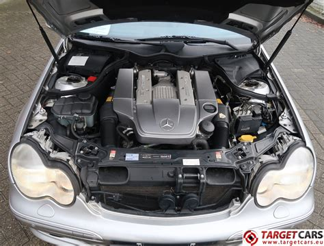 The w203 class c model is a car manufactured by mercedes. MERCEDES C32 AMG 3.2L V6 KOMPRESSOR 354HP AUT 02-02 SILVER 57568KM LHD