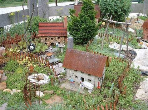 how to make a miniature garden with diana flea market