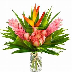 Bouquet De Fleurs : fleurs exotiques rose de martinique pas cher ~ Teatrodelosmanantiales.com Idées de Décoration