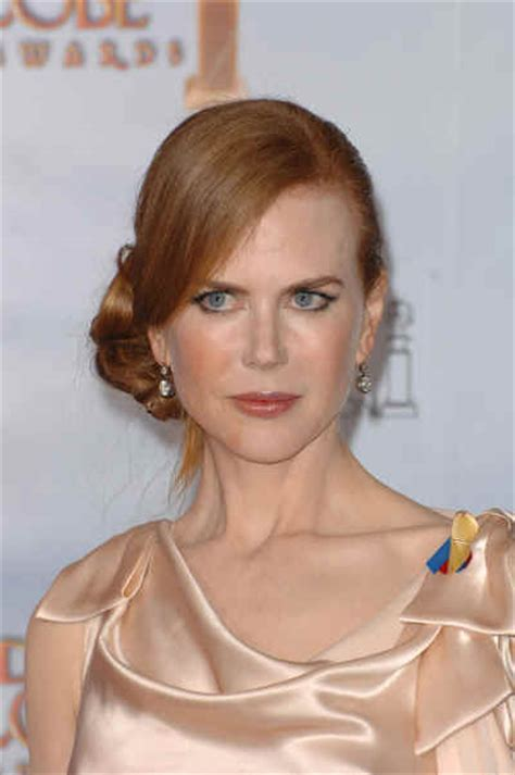 Hairstyles: Nicole Kidman?s Formal Updo Sophisticated