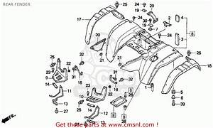 Honda 300 Fourtrax Serial Number Location