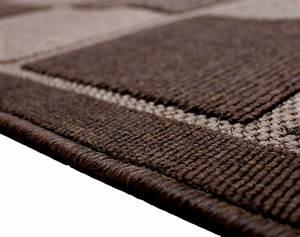 Teppich Flur Läufer : kariert braun oder creme extra lang breit flur ~ Lateststills.com Haus und Dekorationen