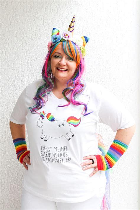 fasching kostüme damen selber machen karneval diy einhorn kost 252 m selber machen mrsberry familien reiseblog 220 ber das leben und
