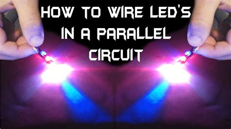 How Wire Multiple Led Parallel Circuit Youtube