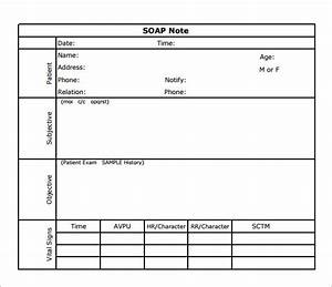 soap note template 7 download free documents in pdf With soap documentation template