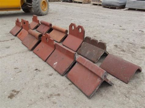 reclaimed decorative crested clay ridge tiles