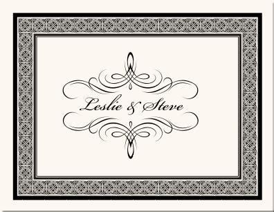 printers ornaments calligraphy flourishes custom monogram wedding save  date stationery
