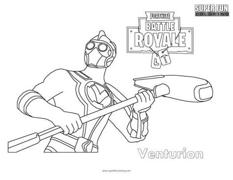 Fortnite Omega Coloring Pages
