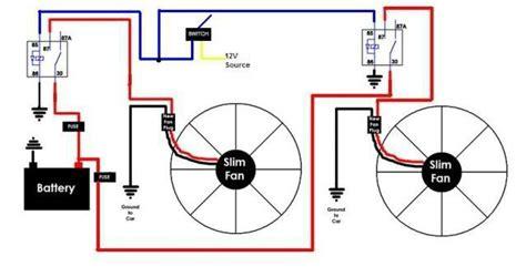 Electrical Fan Diagram by Diy Fan Relay For You Car Fan Relay Diagram Electric