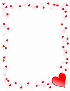 Heart Border Clipart Transparent Letters