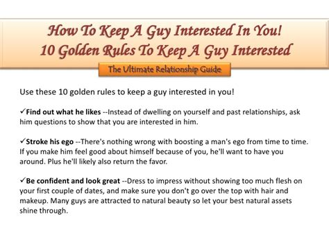 how to keep how to keep a interested in you