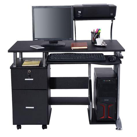 computer desk pc laptop table workstation home office