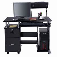 computer workstation furniture Computer Desk PC Laptop Table WorkStation Home Office ...
