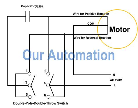 wiring diagram dpdt switch remote controller for dpdt switch our automation