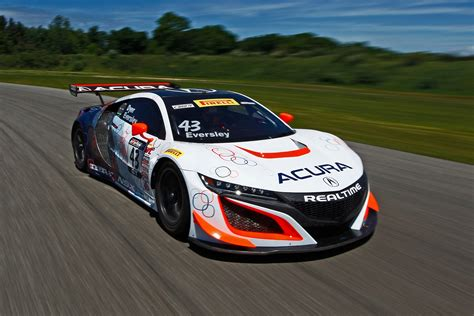 Race Cars by Laps Acura Nsx Gt3 Automobile Magazine