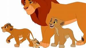 Simba and Cubs by ILOVEKOVU on DeviantArt