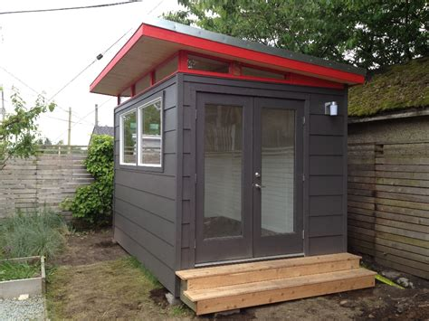 modern shed kit 8 x 12 prefab shed garden shed tool