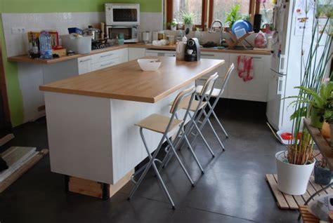plan de travail cuisine a faire soi meme faire soi meme ilot central cuisine plan de travail