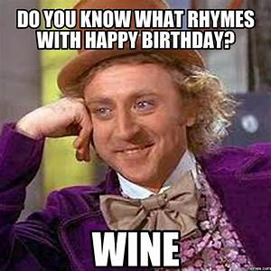 Hy Birthday Memes Wine Astronomybbs Info | The funnies ...